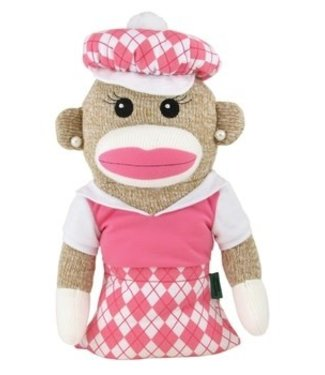 Winning Edge Designs ANNA BANANA SOCK MONKEY HEADCOVER