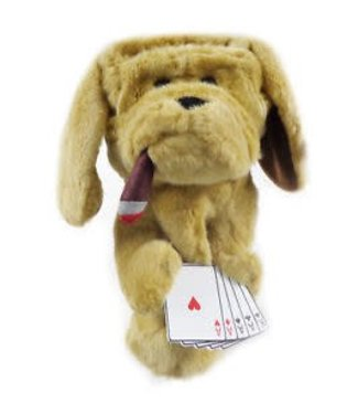 Winning Edge Designs POKER PLAYING HOUND HEADCOVER