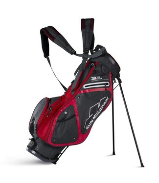 Sun Mountain 3.5 LS STAND BAG BLACK/RED