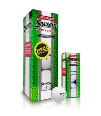 Srixon SOFT FEEL SUPER SLEEVE (2 DOZEN)