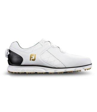 Footjoy PRO S/L WHITE/BLACK W/BOA 53596
