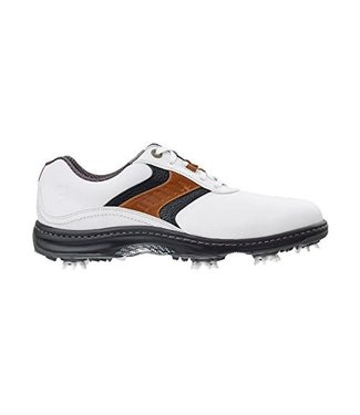 Footjoy CONTOUR SERIES WHITE/BROWN SADDLE 54130