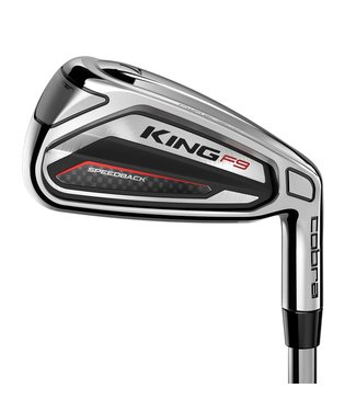 Cobra KING F9 SPEEDBACK IRONS LEFT HAND