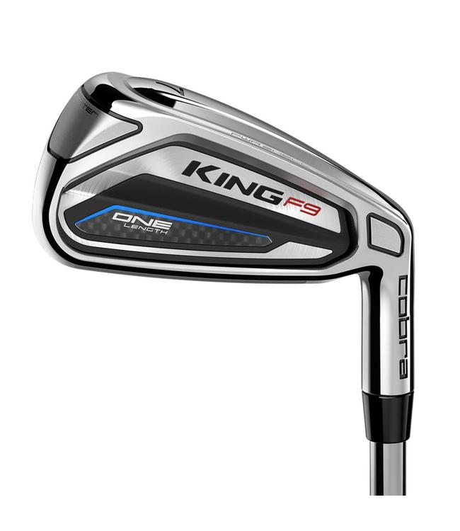 KING F9 SPEEDBACK ONE LENGTH IRONS LEFT HAND