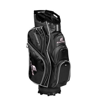 Tour Edge EXOTICS EXTREME 4 CART BAG BLACK