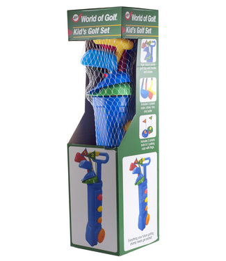 JEF World of Golf KIDS GOLF GIFT SET