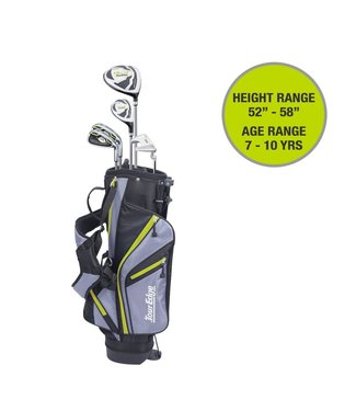 Tour Edge HL-J 7-10 LIME 5 CLUB SET W/BAG LEFT HAND