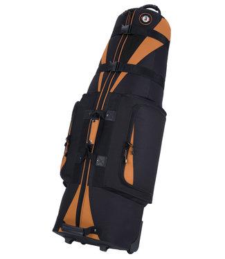 Golf Travel Bags CARAVAN 3.0 TANGERINE/BLACK