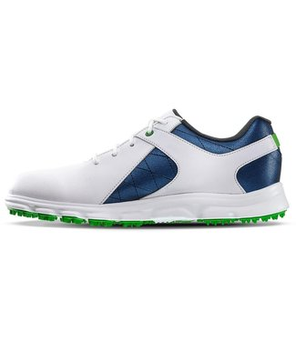 Footjoy BOYS PRO S/L WHITE/BLUE 45039