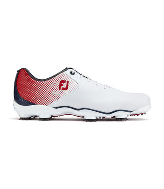 Footjoy D.N.A. HELIX WHITE/RED/BLUE 53317