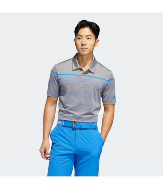 Adidas ULTIMATE365 DASH STRIPE POLO GREY/BLUE