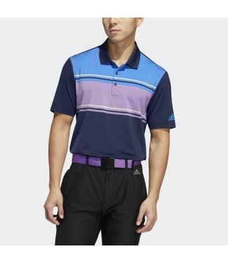 Adidas ULTIMATE365 COMPETITION POLO COLLEGIATE NAVY/TRUE BLUE/ ACTIVE PURPLE
