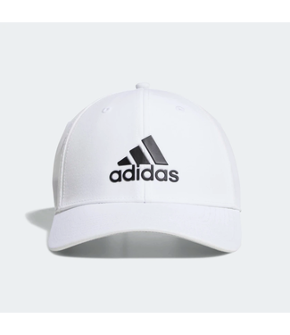 A-STRETCH BADGE OF SPORT TOUR HAT WHITE