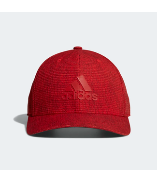 HEATHERED SNAPBACK HAT HI-RES RED