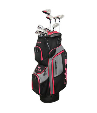 Cobra WOMEN'S XL SPEED COMPLETE SET BLACK/PINK