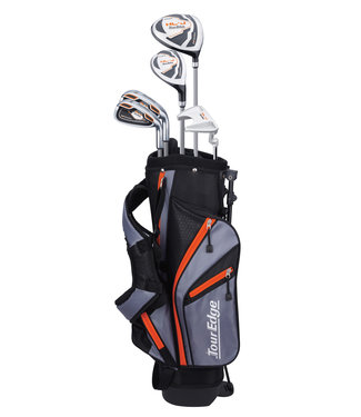 Tour Edge HL-J 5-8 ORANGE 5-CLUB SET W/BAG LEFT HAND
