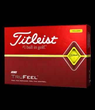 Titleist TRUFEEL - YELLOW