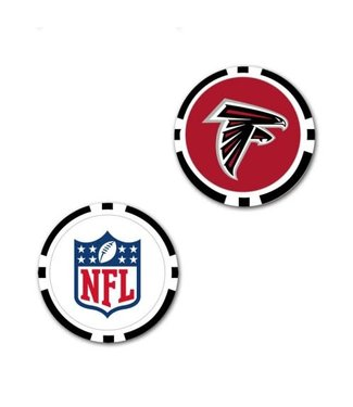 Wincraft POKER CHIP BALL MARKER ATLANTA FALCONS
