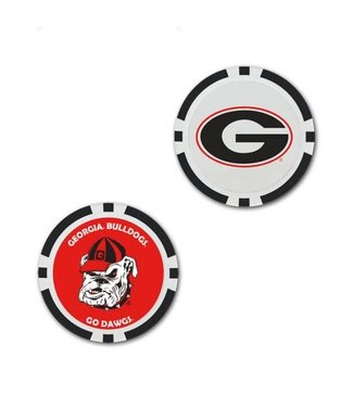 Wincraft POKER CHIP BALL MARKER GEORGIA