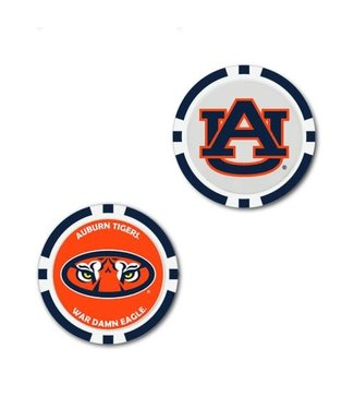 Wincraft POKER CHIP BALL MARKER AUBURN