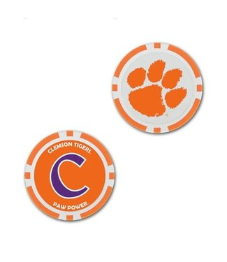 Wincraft POKER CHIP BALL MARKER CLEMSON