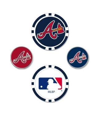 Wincraft BALL MARKER SET ATLANTA BRAVES
