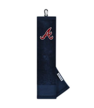 Wincraft EMBROIDERED GOLF TOWEL ATLANTA BRAVES
