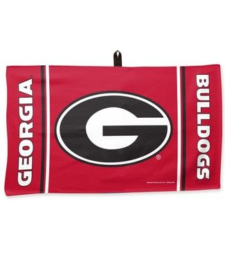 Wincraft MICROFIBER GOLF TOWEL GEORGIA BULLDOGS