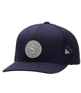 Puma TRUCKER CIRCLE PATCH SNAPBACK HAT