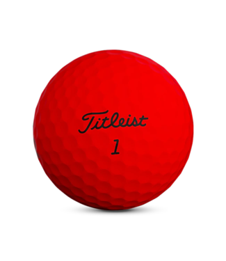Titleist TRUFEEL - MATTE RED