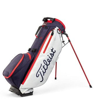 Titleist PLAYERS 4 PLUS STAND BAG USA FLAG NAVY/WHITE/RED