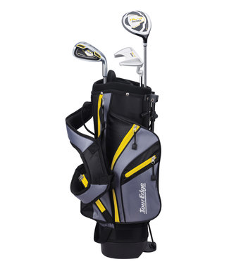 Tour Edge HL-J 3-6 YELLOW 3 CLUB SET W/BAG LEFT HAND
