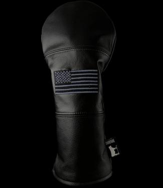 DORMIE WORKSHOP PREMIUM LEATHER DRIVER COVER USA BLACK