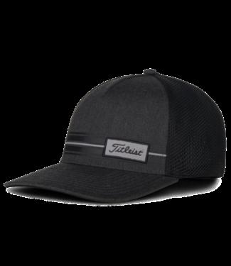 Titleist SURF STRIPE LAGUNA HAT - GRAY/BLACK