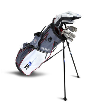 "US Kids Golf TOUR SERIES 3 60"" 10 CLUB STAND BAG COMBO SET"