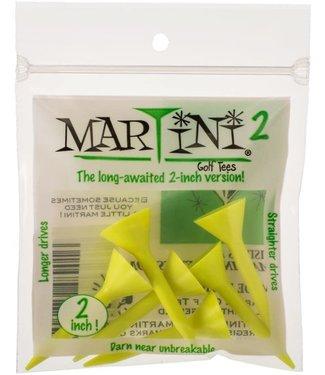 """Martini Golf Tees MARTINI TEE 5PK 2"""" YELLOW"""