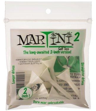 """Martini Golf Tees MARTINI TEE 5PK 2"""" WHITE"""