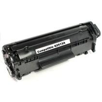 CQ2612A - Cartouche laser compatible HP Q2612A - Noire - 2 000 pages à 5% de couverture de page