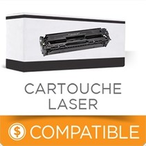 CTN436BK - Cartouche Laser Compatible - Brother - Noire - 6500 pages à 5% de couverture de pages