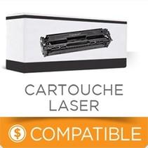 CTN436BK - Cartouche Laser Compatible - Brother - Noire - 6500 pages à 5% de couverture de pages
