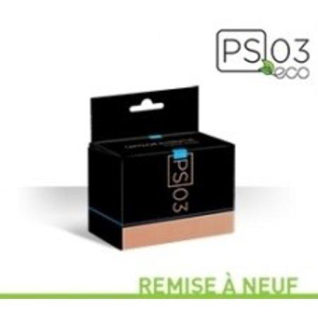 Cartouche à jet d'encre recyclée québécoise HP 63XL - Noire