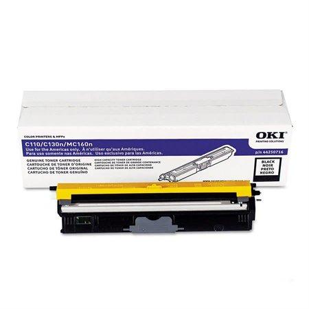 OKI Cartouche laser compatible pour Okidata C110 - Noire