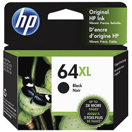 N9J92AN cartouche à jet d'encre originale - (HP #64xl) - Noire - 600 pages à 5% de couverture de page