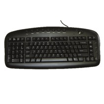 EKB29B - Clavier gaucher noir USB anglais BS29B