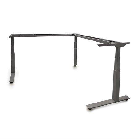 TCLS24A36B - Allegretto Table en ''L'' 3 pattes ajustable électrique 24''