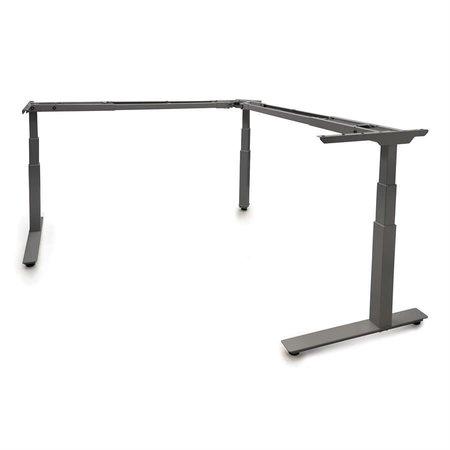 TCLS30A36B - Allegretto Table en ''L'' 3 pattes ajustable électrique 30''