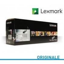 78C1XC0 - Cartouche laser originale pour Lexmark - Cyan - 5000 pages à 5% de couverture de page