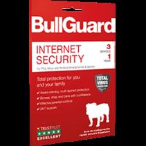 BULLGUARDIS1 - Sécurité Internet - Une protection multicouche renforcée pour vous et vos proches. Fonctionnant à l'aide d'une seule licence, cette solution de sécurité multicouche protège vos appareils Windows, Mac et Android face à toutes les m