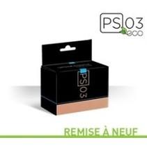 Cartouche à jet d'encre recyclée québécoise RHP27B (HP #27 BK) - Noire