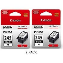 PG245XL-2x - Cartouche à jet d'encre originale Canon - Noire - Paquet double